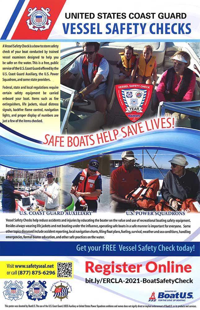 2021 Vessel Safety Checks Poster
